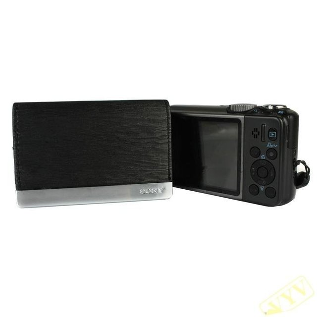 Fashion! Protective PU Leather Digital Camera Carrying Case for SONY Cybershot - Black (TWK) 900880-EL105336 Free shipping  good