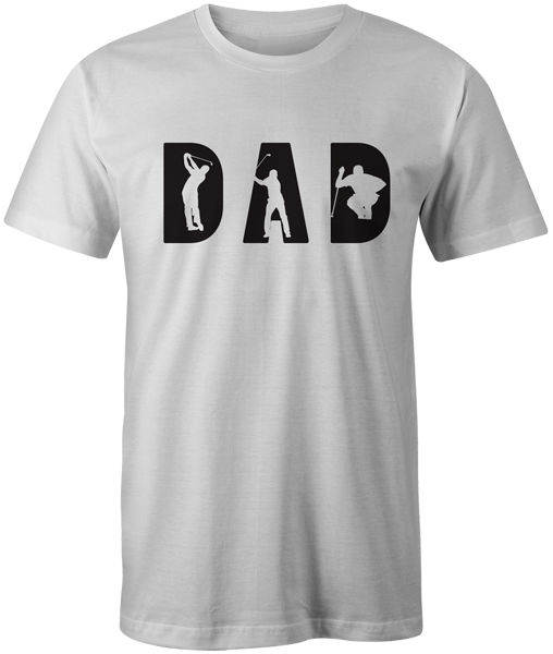 Golfed Dad T-Shirt Fathers Day Gift Birthday Top Tee On Sale New Fashion Summer