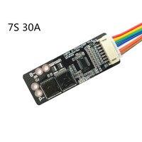 BMS 7S 30A NTC Board für 3 7 V Ternären Lithium-Batterie Schutz Bord/Batterie Aktive Equalizer Balancer Energie transfer Bord