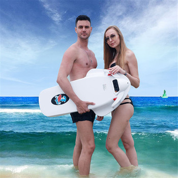2019 New F2 ABS Electric Powered Sea Scooter 3200W 36V Water Surfing Skateboard Motor Surfboard Independent Suspension Propeller