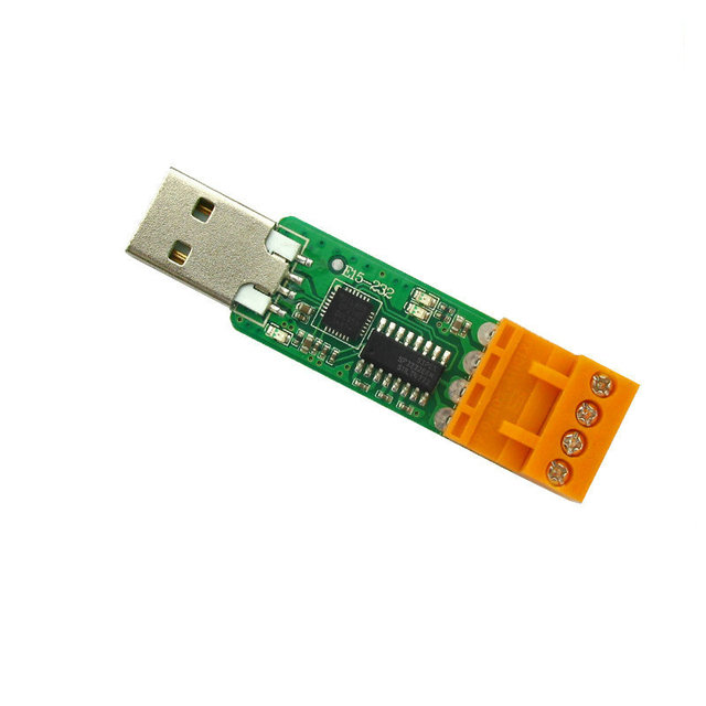 2pcs/lot Free shipping USB to RS232 transfer board CP2102 2.4G 433M wireless serial port module of the test board