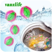 vanzlife hair removing magic decontamination cleaning laundry balls clothes winding unhair washing balls for washing machine
