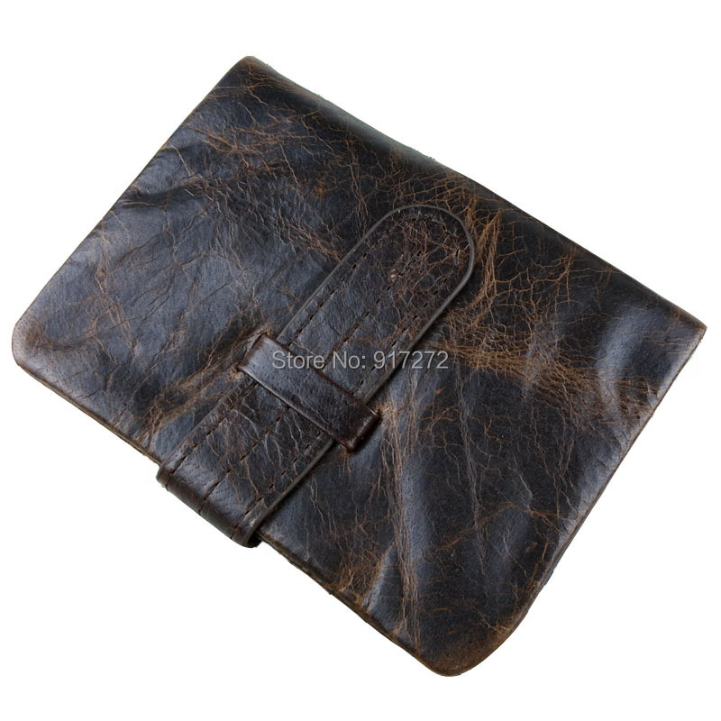 cow genuine luxury leather men wallets purse vintage designer male carteira #WM-1213