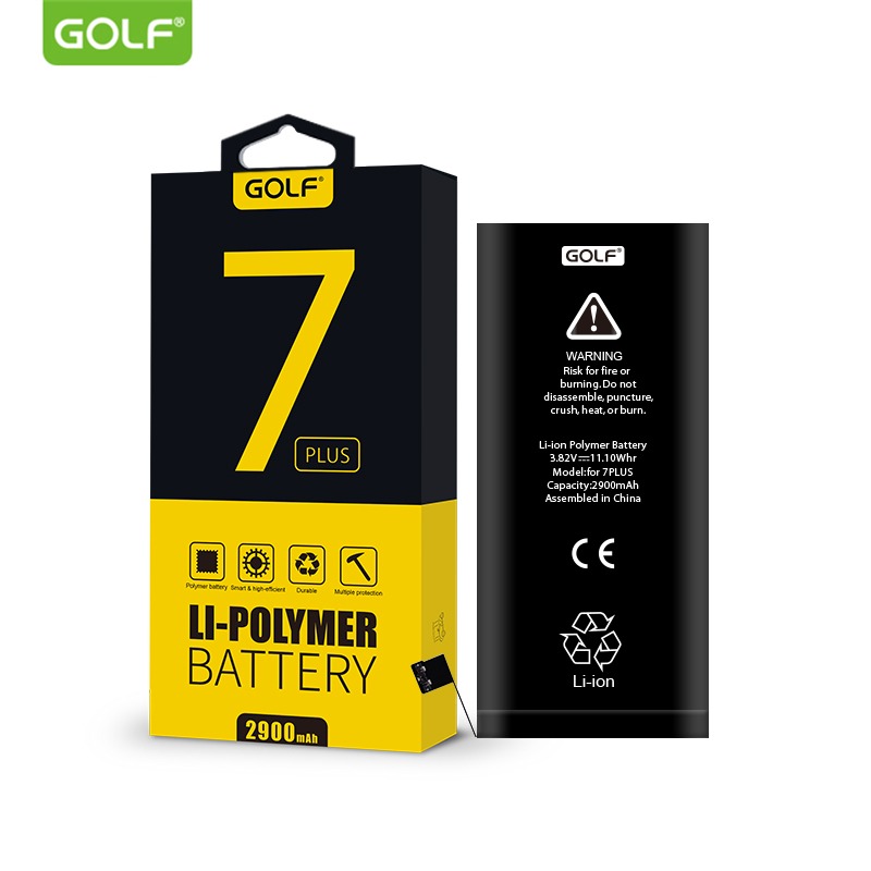 golf original battery for iphone 7 plus built in phone. Black Bedroom Furniture Sets. Home Design Ideas