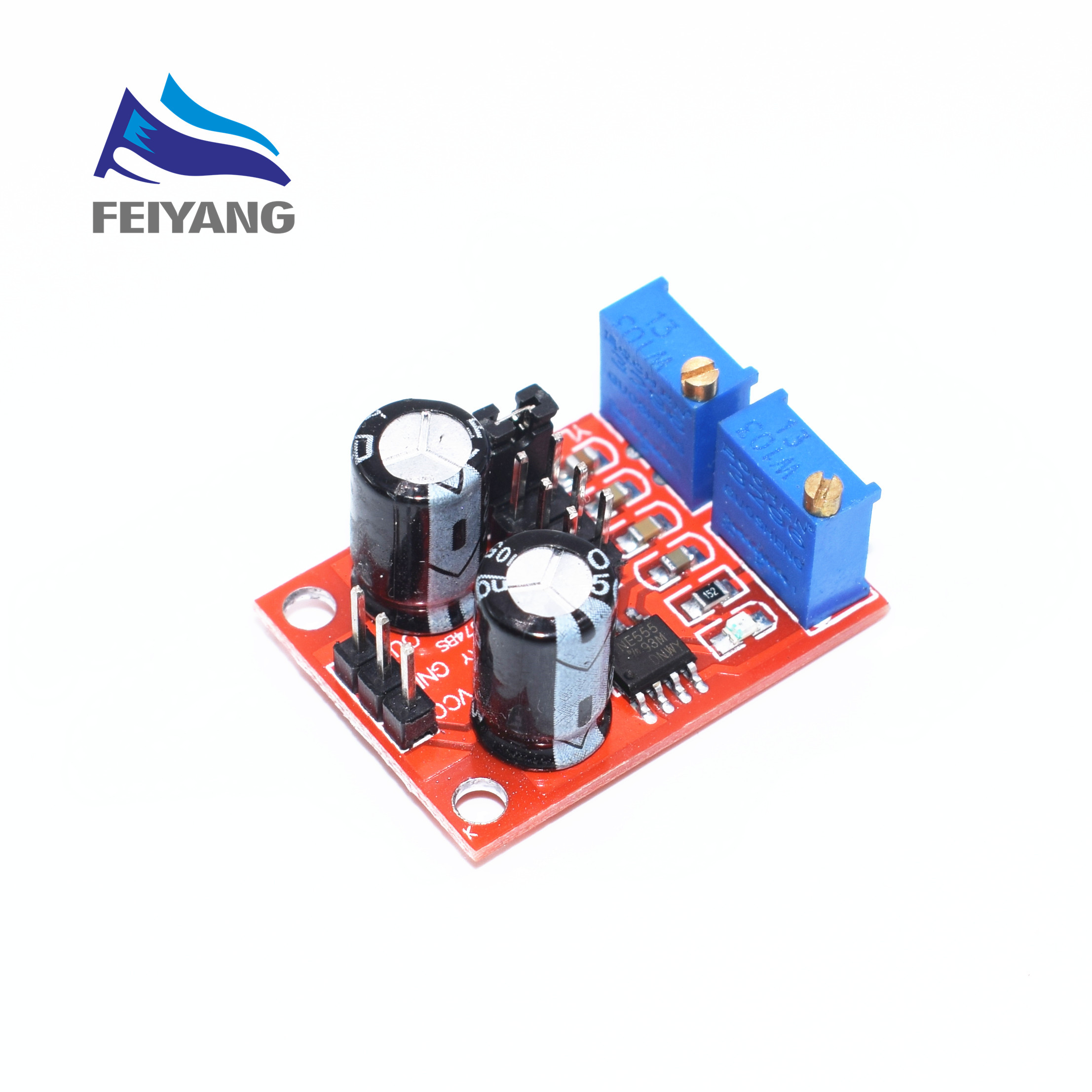 20pcs Ne555 Pulse Frequency Duty Cycle Adjustable Module Square Wave Arbitrarydutycycle Squarewave Oscillator Circuit Diagram Signal Generator