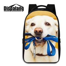 Dispalang nette hundedruck laptop rucksäcke für jugendliche frauen reisetaschen benutzerdefinierte schule buch taschen für studenten bagpack
