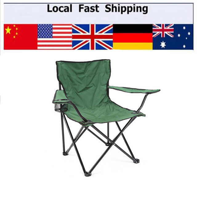 Green Folding chairs outdoor leisure travel ultralight fishing stool portable folding chair recliner field Fishing chair