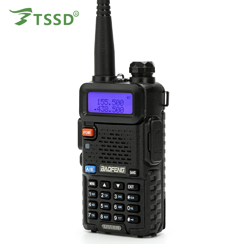 Baofeng UV5R 136-174 / 400-520 draagbare 2-weg dual-band Walkie Talkie 5 KM