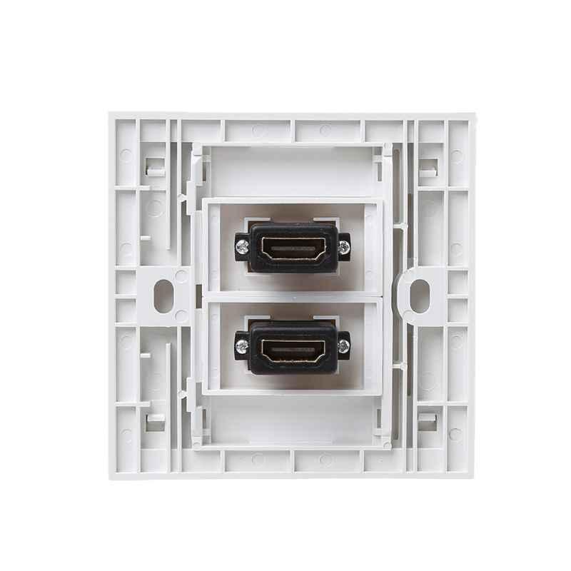 86 نوع ألواح للحائط مقبس HDMI عالية الوضوح التلفزيون الرقمي شبكة منفذ كابل
