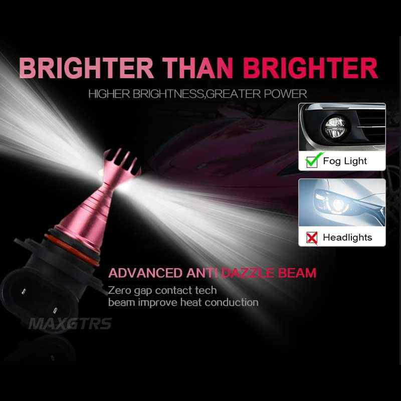 2x H1 H3 H8 H11 9005 9006 HB3 HB4 30W CREE Chips Led Bulb Daytime Running Light White Car Fog Lamps DRL Headlight
