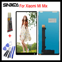 Sinbeda 6 4 LCD Display For Xiaomi MI Mix Touch Screen Digitizer Assembly For Xiaomi Mi