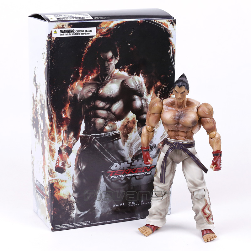 Tekken Tag Tournament 2 Play Arts Kai Mishima Kazuya PVC Action Figure Collection Model Toy salmo tournament 050 018