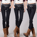 Jeans Woman Casual high Waist women jeans skinny Women Denim Pants Black Blue trousers for womenPlus velvet plus Size 4XL