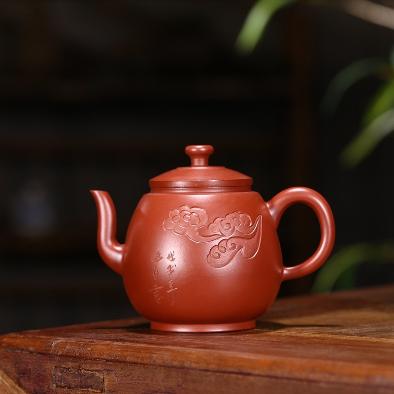 Wholesale zisha teapot yixing manual dahongpao are recommended, pavilion depict new products listed on the teapotWholesale zisha teapot yixing manual dahongpao are recommended, pavilion depict new products listed on the teapot