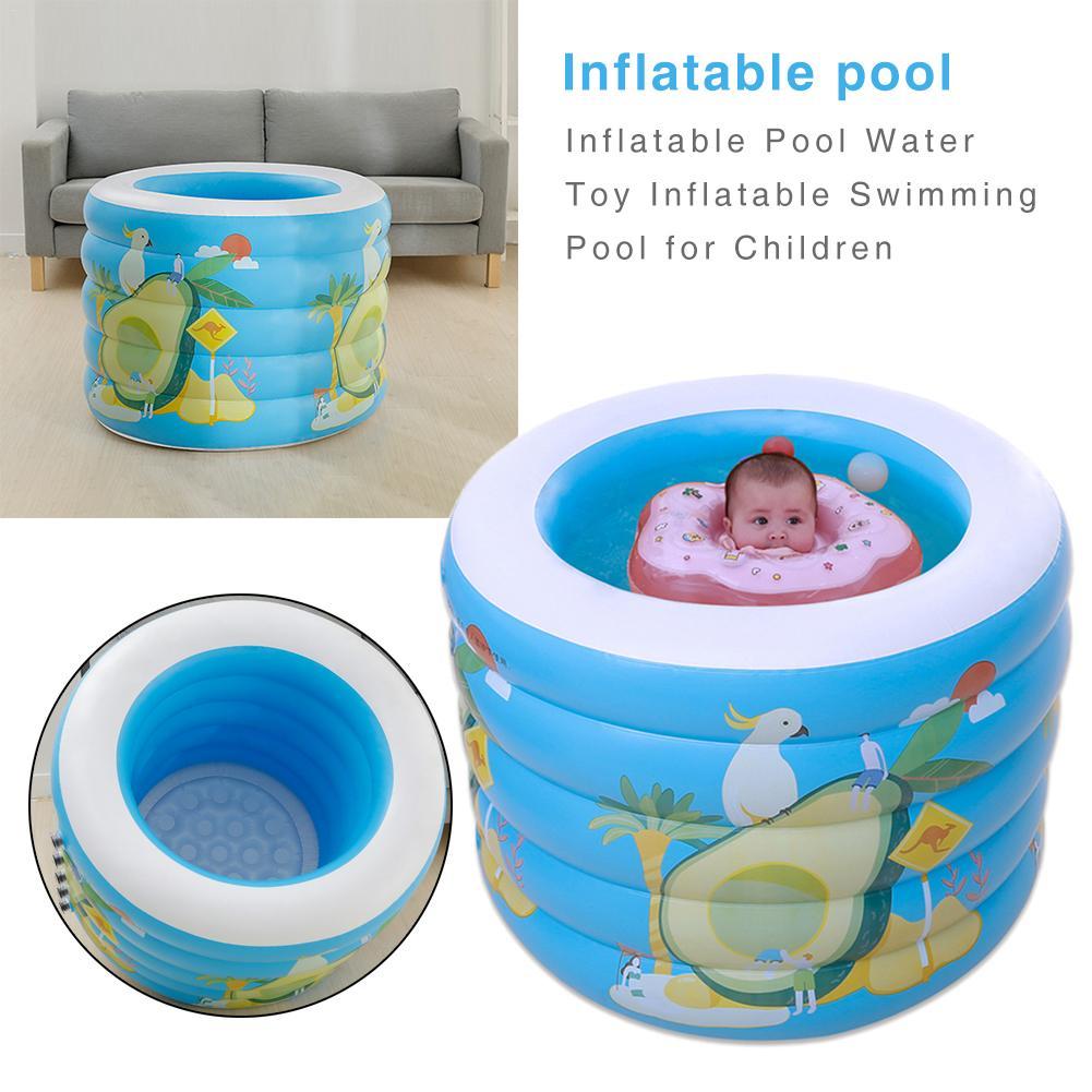 Gonflable bébé piscine Portable en plein air enfants bassin baignoire enfants piscine Piscina nouveau-né bébé piscine eau jouet