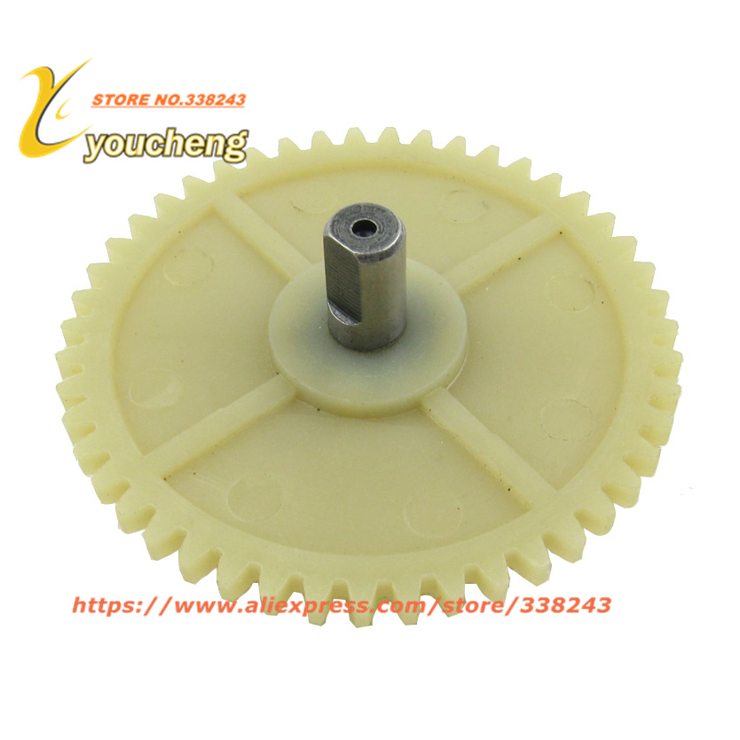 Youcheng New Type GY6 50 80cc Oil Pump Gear 47 Teeth Scooter Engine Spare Parts Moped Wholesale 139QMB/QMA Modify Bike Repair