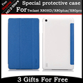 "Venda quente Original Ultra-fino Três Folding PU Caso capa de Couro Para Teclast X80HD X80 X80 Plus Pro 8 ""Tablet"