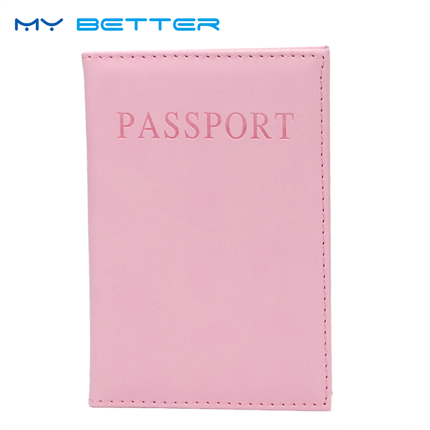 PU Leather Women Passport Holder Couple Models Girls Travel Passport Cover Unisex Card Case Man Card Holder anna baiguera эспадрильи