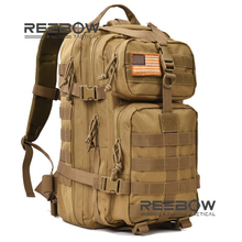 REEBOW TACTICAL Military Tactical Assault Pack Backpack Army Molle Waterproof Camping Bug Out Bag Rucksack for Outdoor Hiking