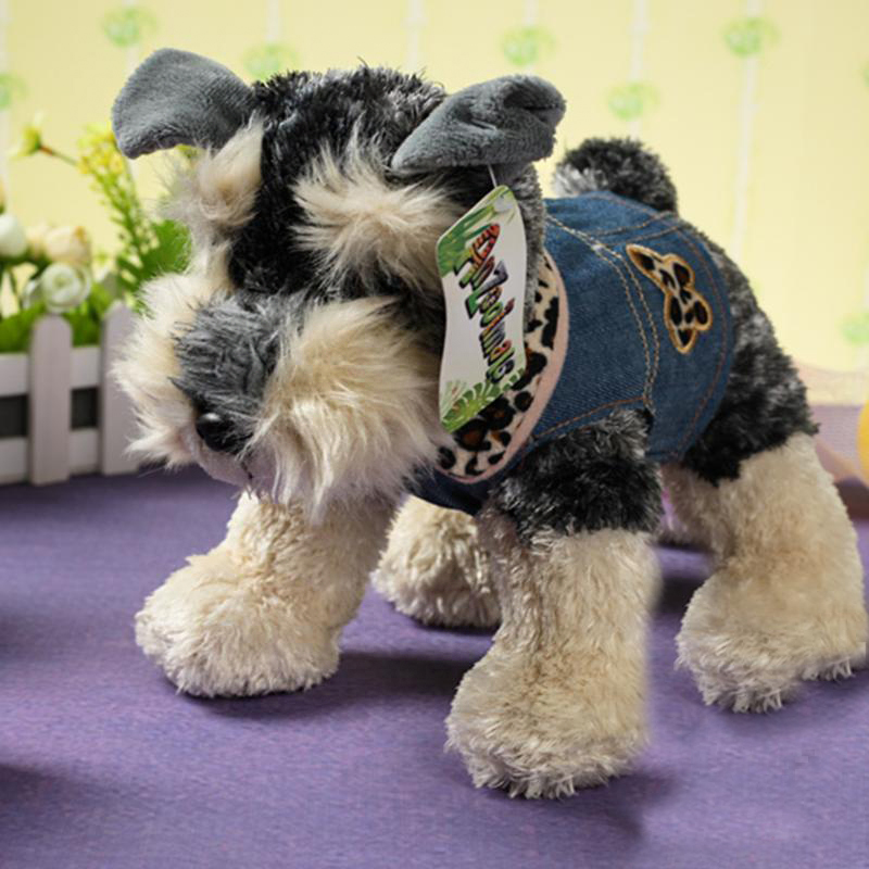 Stuffed Animal Dog Pillow : Aliexpress.com : Buy Schnauzer stuffed animal 24cm plush puppy Doll similate Schnauzer pillow ...