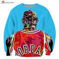 Sportlover New Hot Sale 3D Print Color Painting Michael Jordan Sweatshirt Women/Men High Quality Tops Pullover Hoodies