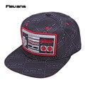 Nintendo Consola Criativo Projeto Snapback Caps chapéu Legal Adulto Boné de Beisebol Carta Bboy de hip Hop Chapéus Para Mulheres Dos Homens