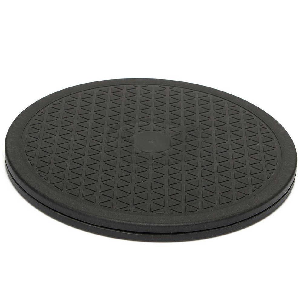 10 дюймов черный с поворотом вращающийся поднос ленивый еда домашнего приготовления инструмент