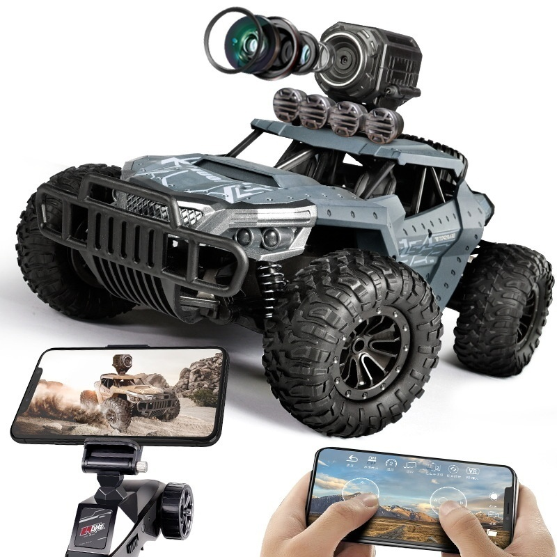25KM/H RC Remote Control Buggy Car With WiFi 720P HD Camera Wireless Climbing Children Truck Toy Rc Drift Car HQ1803