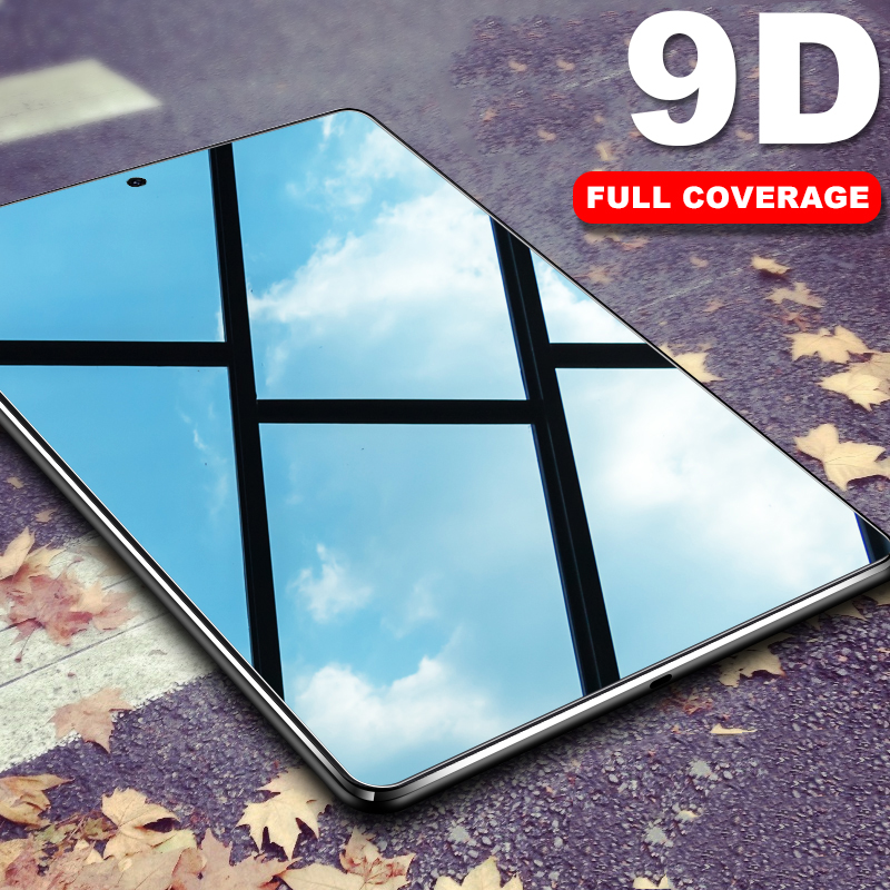 9D Curved Edge Tempered Glass Flim For Samsung Galaxy Tab S5e S4 S6 Screen Protector For Galaxy Tab A 10.1 2019 8.0 10.5 2018