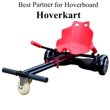 2016 New Hoverseat Hoverkarting for 6.5, 8, 10 Inch Hoverboard Accessories Free Tax to EU AU US Go-Karts Hoverkart/