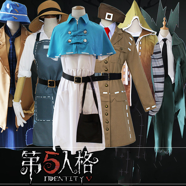 Identity V Game Cosplay Mercenary Protector Doctor Costumes Party Halloween Costumes Adult Men Women