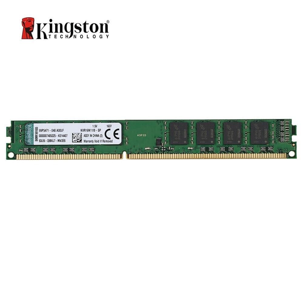 Kingston 8GB DDR 3 1600Mhz Desktop Value Ram KVR16N11/8