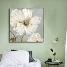 Pure Flower Canvas Calligraphy Painting Wall art Picture for Living Room Bedroom Art Poster Decoration Morden Print