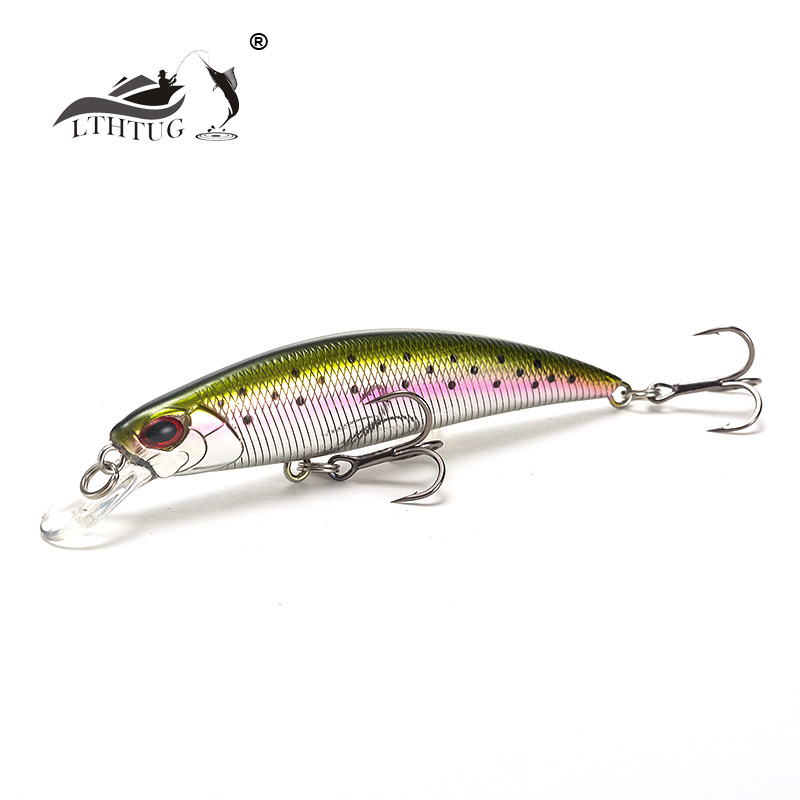LTHTUG Japanese Design Pesca Stream Hard Fishing Lure <font><b>70mm</b></font> 8.3g Sinking <font><b>Minnow</b></font> Isca Artificial Baits For Bass Perch Pike Trout image