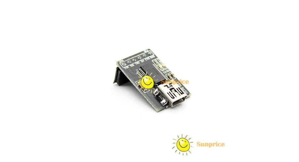 portable  sunprice ftdi basic 5v ttl to mini usb logic level converter programmer rs232 serial