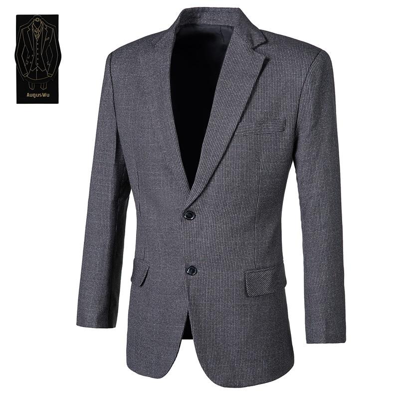 100% Wahr High-grade Wolle Mischung Männer Anzug Zwei-stück Anzug (jacke + Hosen) Herren Business Formale Anzug Männlichen Ball Party Kleid Unterstützung Custo 100% Original