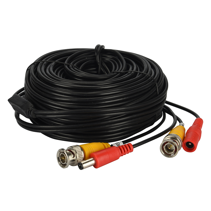 MOVOLS BNC Video Cable Security CCTV Camera DC Power Copper Core AHD CVI Surveillance DVR System Installation Accessories