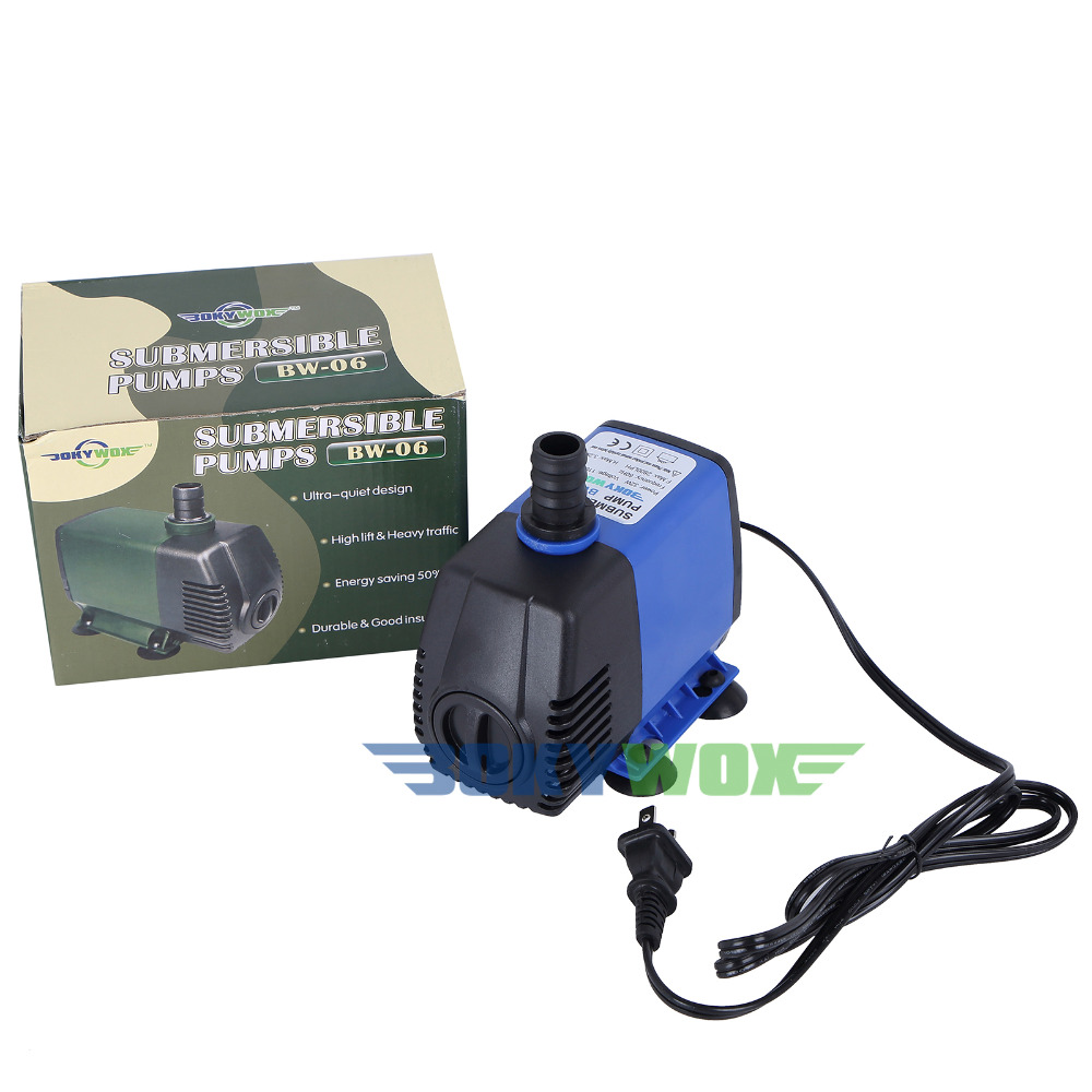 110-120V Submersible Water Pump 32W Fish Tank Pond Fountain Aquarium 792.5GPH110-120V Submersible Water Pump 32W Fish Tank Pond Fountain Aquarium 792.5GPH