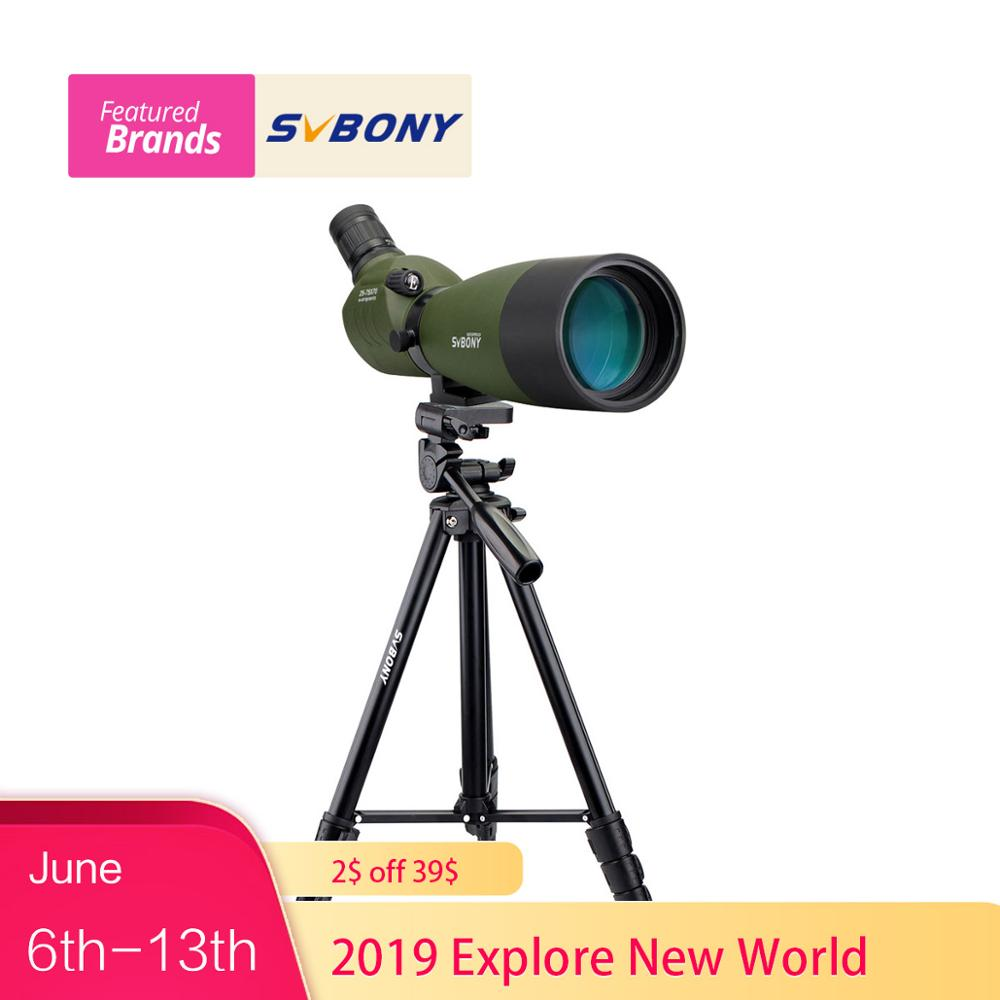 SVBONY Spotting Scope SV14 BAK4 Zoom 25-75x70mm 45De Spotting Scope Birdwatch Telescope+Phone Adapter+2 Tripod F9310SVBONY Spotting Scope SV14 BAK4 Zoom 25-75x70mm 45De Spotting Scope Birdwatch Telescope+Phone Adapter+2 Tripod F9310