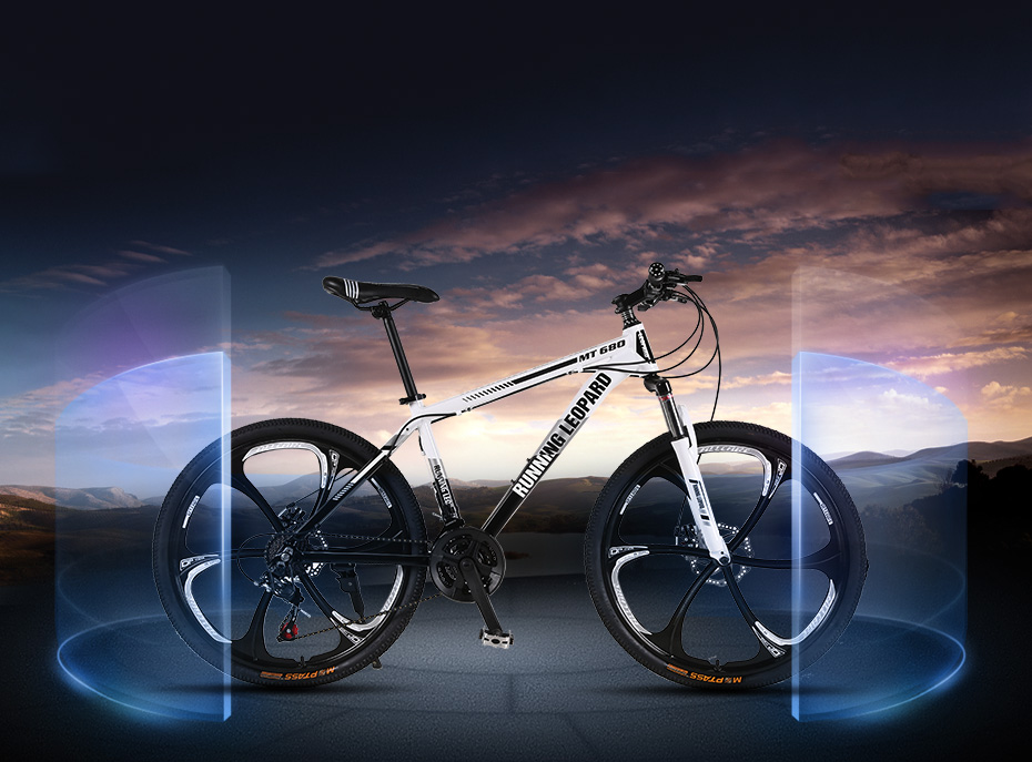 HTB1zGRhXEzrK1RjSspmq6AOdFXaj Running Leopard mountain bike bicycle 21/24 speed mountain bike suitable for  for men and women students vehicle adultb
