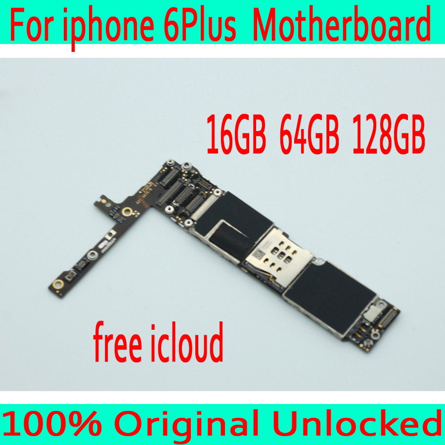 without Touch ID for iphone 6 Plus 5.5inch Motherboard,Original unlocked for iphone 6P Mainboard+No iCloud,16GB / 64GB /128GBwithout Touch ID for iphone 6 Plus 5.5inch Motherboard,Original unlocked for iphone 6P Mainboard+No iCloud,16GB / 64GB /128GB