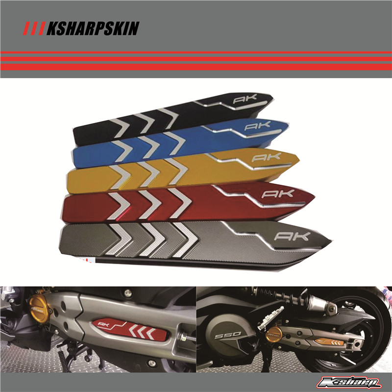 Newest Item Motorcycle CNC Aluminum Rocker arm cover rocker cover For KYMCO AK550 ak 550 2017 mtkracing for kymco ak550 motorcycle parts headlight protector cover screen lens ak 550 2017 2018