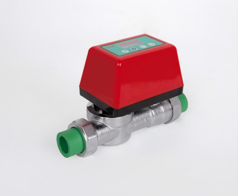 Smart Home Water Water Leakage Detection Alarms System Motorized Valve DN20 DN25 Leakage Sensor Alarm