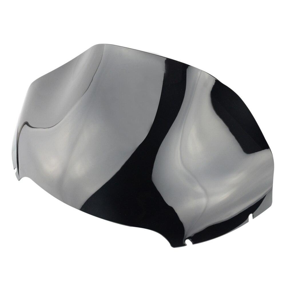 RUOCH 13.5 Smoke Wave Windshield Windscreen For Harley Road Glide FLTR FLTRX FLTRU 2015-2019 2016RUOCH 13.5 Smoke Wave Windshield Windscreen For Harley Road Glide FLTR FLTRX FLTRU 2015-2019 2016