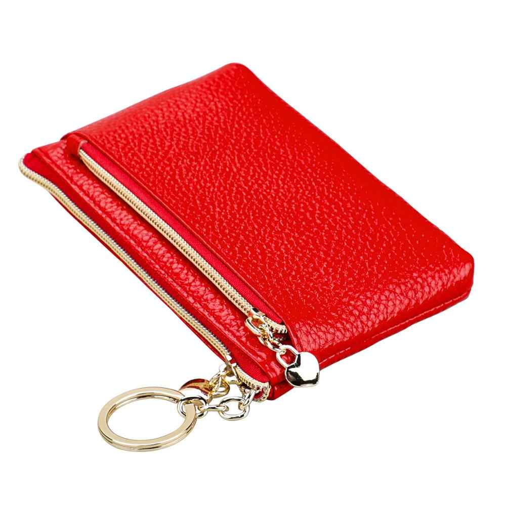 Giày Nữ Ví Da Thật Chính Hãng Da Nữ Quản Gia ví móc chìa khóa ô tô Túi điện thoại đa năng nữ Ví nữ Cao Cấp chất lượng