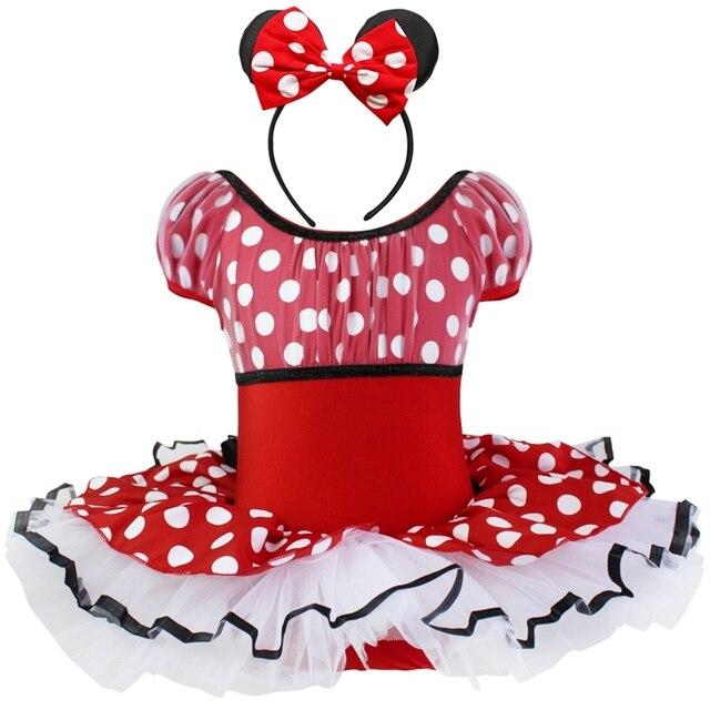 regalo de navidad para nios chicas infantil punteada bowknot vestidos de princesa fiesta de cumpleaos