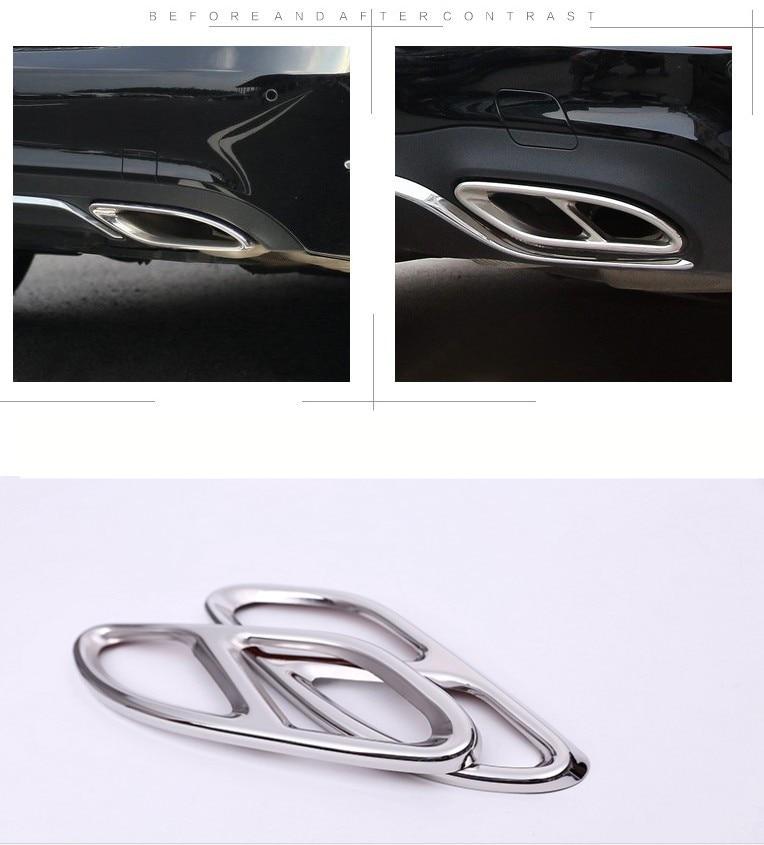 Filtro de aire Exhause de acero inoxidable de 2 a 4 accesorios para - Accesorios de interior de coche - foto 3
