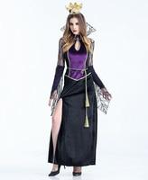 Halloween scary costumes cosplay spider Vampire queen witch costume Fantasia women sexy fantasias feminina para Fancy Dress