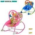 Детские кресла-качалки музыкальные детские автоматическая качели стул многофункциональный Регулируемый вибрационный марка дети кресло колыбель