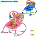 Bebé mecedora bebé musical multifuncional silla de oscilación automática cuna Ajustable vibrante marca kids reclinable